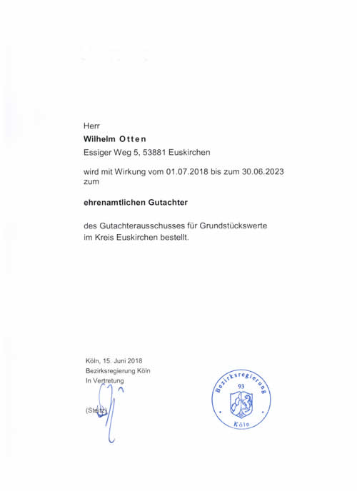 Immobiliengutachter - Bonn